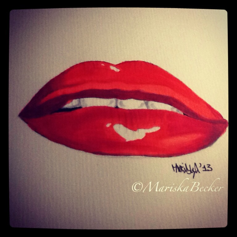 Quick lips! Used my markers after 15 years...
